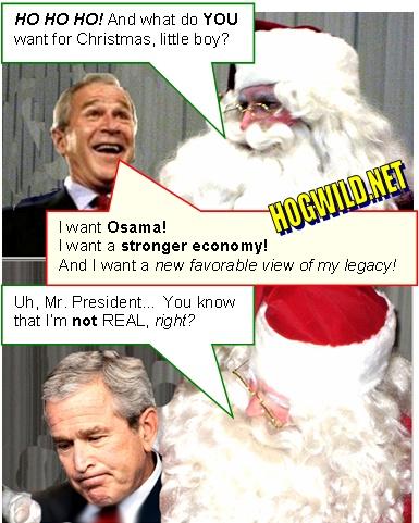 Funnies! - Page 2 President-bush-santa-claus-christmas