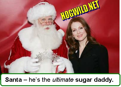 Christmas pictures jokes santa claus gets a perm funny for Sugar daddy jokes