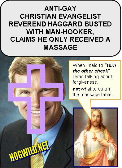 Reverend Haggard Gay Sex Scandal Christian Church.