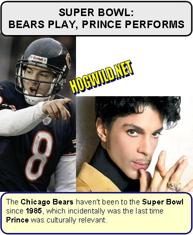 super bowl prince chicago bears
