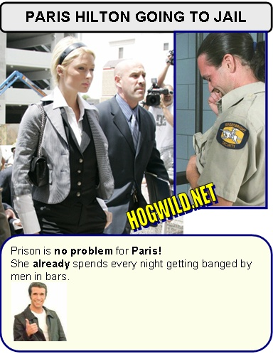 paris hilton jail