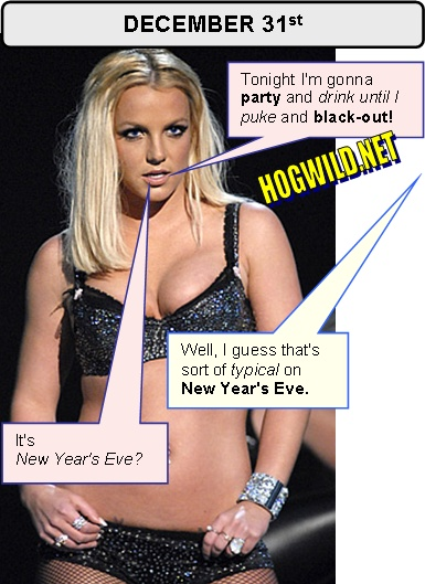 britney spears new years eve