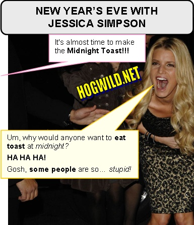 jessica simpson new years eve