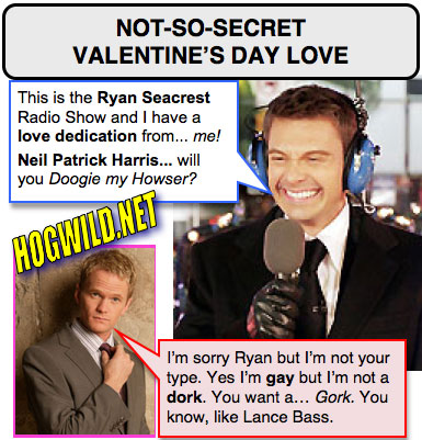 ryan seacrest gay valentines day Remember the scene in Annie Hall in which Woody Allen and Diane Keaton are ...