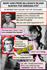 funny myspace pictures: mary ann gilligan's island dawn wells marijuana
