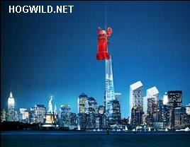 Jokes, Pictures: Freedom Tower to have Giant Lobster on top. Jokes and funny pictures.