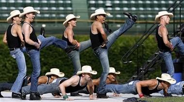 gay cowboy dancers