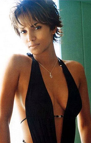 milf pictures: halle berry cleavage