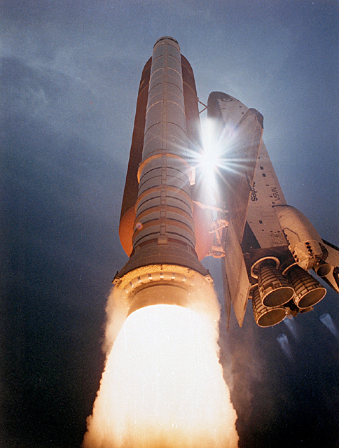 launch space shuttle boosters - photo #7