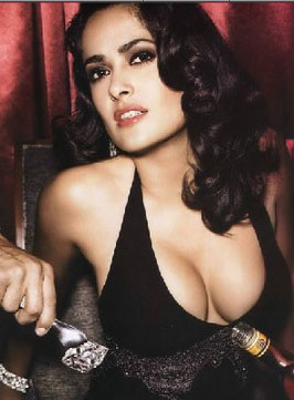 milf pictures: salma hayek breasts